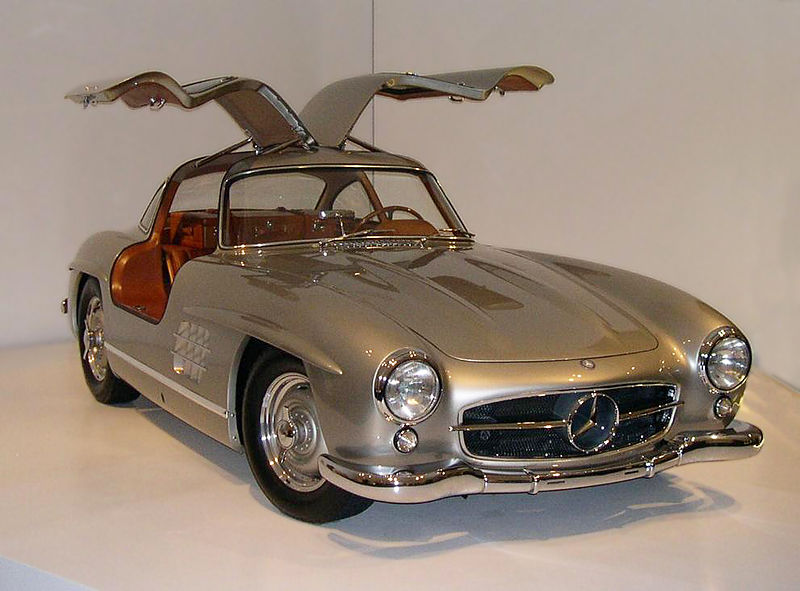 1950'lerin sembol otomobili Mercedes-Benz 300 SL