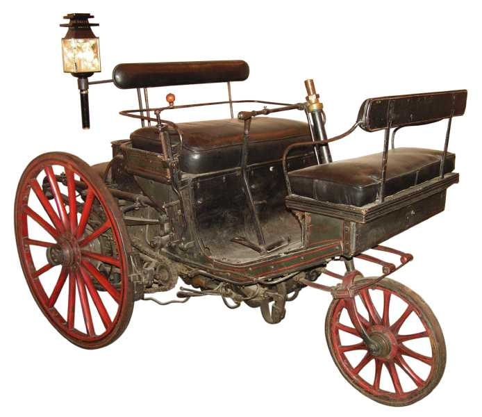 Serpollet'nin üç tekerlekli aracı