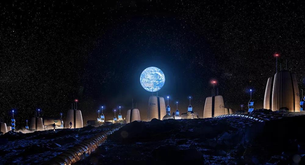 10 Yıl içinde kurulacak 'Ay Köyü'