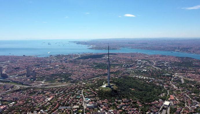 Çamlıca Kulesi ( 587 metre )
