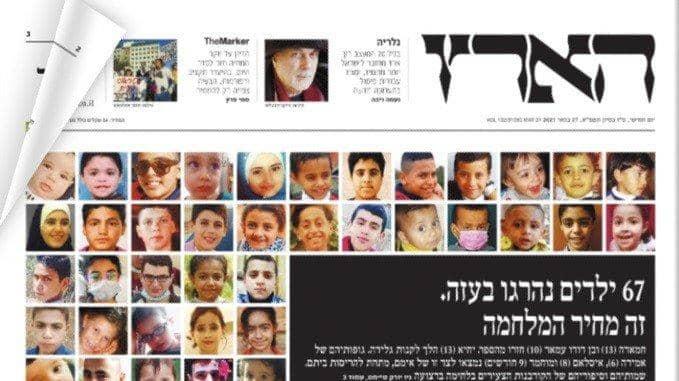 Öldürülen Filistinli çocuklar İsrail basını manşetlerinde: Savaşın bedeli bu
