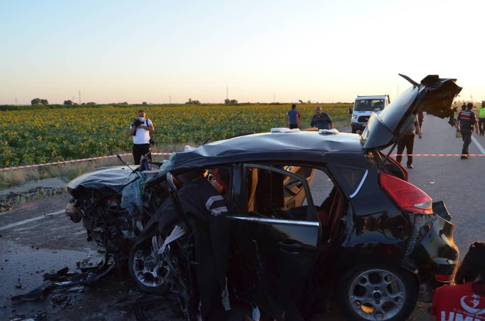 Aksaray'da Feci Kaza! Gurbetçi Çift Yaşamını Yitirdi