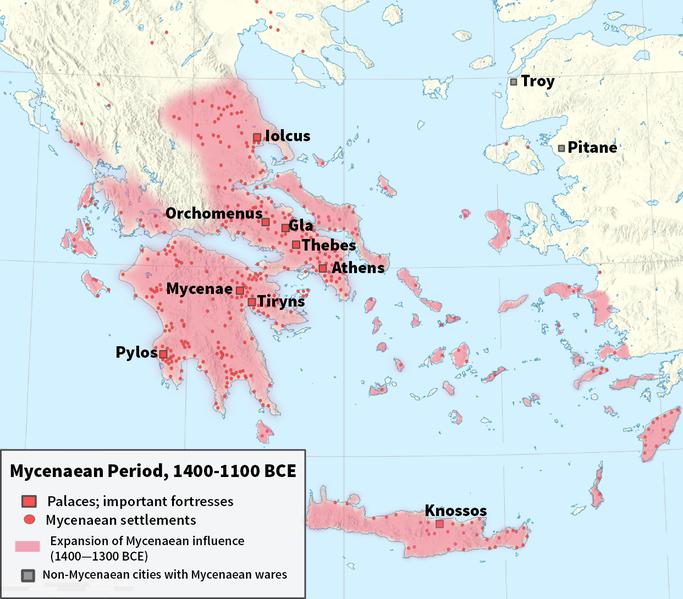 Miken uygarlığı (M.Ö- 1600-1100)