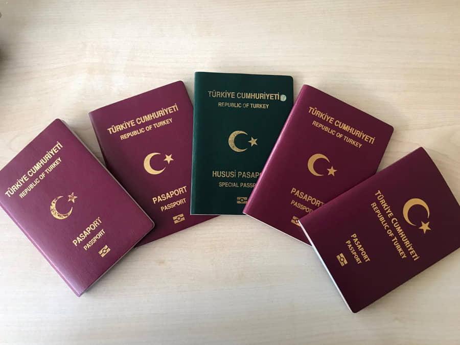 2021 Yılı Almanya Türk Konsolosluk pasaport Harç ve Vekalet Ücretleri
