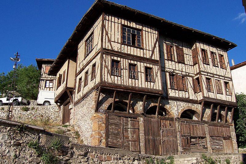 Safranbolu'daki geleneksel Osmanlı evleri