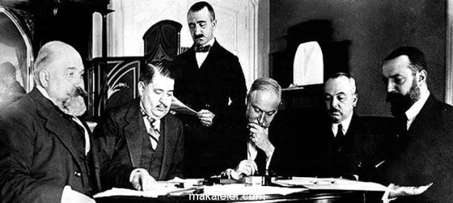 Uşi Antlaşması - 18 Ekim 1912